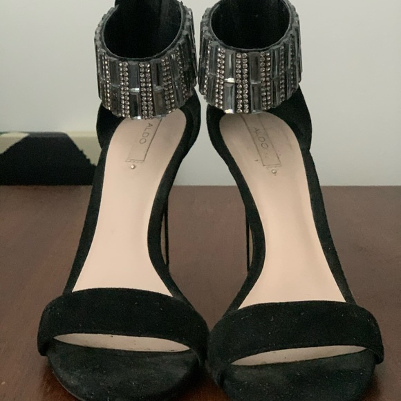 Aldo Crystal Stiletto Heels size 37